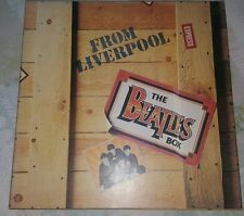 The Beatles box from Liverpool collection of vinyl records World Records LP