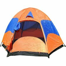 CLEARANCE SALE -4 Person Large Tent Dome Waterproof Hiking Camping Tent 2 Doors