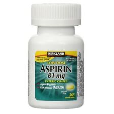 Kirkland Signature - Low Dose Aspirin (81mg) - 365 Enteric Coated Tablets