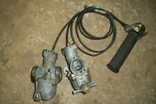 Triumph Lucas 626 Amal Carburetors & Throttle  500cc T100 1967  75