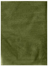 Olive Drab Green Insect Bug Mosquito 6.5' x 4' Survival Camping Netting Mesh