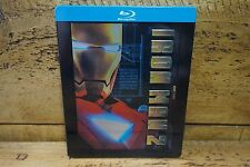 IRON MAN 2 HONG KONG BLU-RAY STEELBOOK GOOD CONDITION