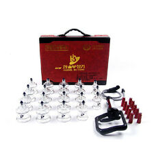 NEW Hansol Bu-Hang Massage Professional Cupping Set (19PCS) /W Extension Tube
