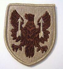 11th AVIATION BRIGADE PATCH SSI U.S. ARMY - DESERT TAN COLOR :FA12-1