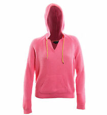 Ralph Lauren XL Pink Long Sleeve Textured Pull Over Hoodie Top NWT FREE SHIPPING