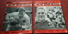 2 x Rugby World Magazines, 1964  June and July