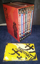 Samurai Champloo DVD Box Set Vol 1-7 Excellent Condition Some DVDs in Shrinkwrap