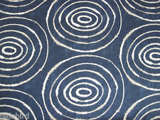 "SCION/HARLEQUIN CURTAIN FABRIC DESIGN ""Sohni"" 3.6 METRES INDIGO/CLAY SPIRIT COL"