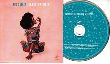 THE SESHEN Flames & Figures 2016 UK 13-track promo CD + press release