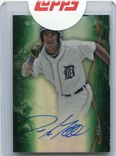2014 BOWMAN STERLING #BSPA-DH DEREK HILL AUTOGRAPH GREEN REF. RC #71/125, TIGERS