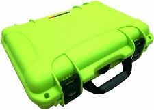 Lime Green Nanuk 910 Case With Foam & Pelican TSA- 1400  Lock