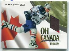 2003-04 ITG Used Signature Series Oh Canada Emblems 14 Ryan Smyth Patch /19