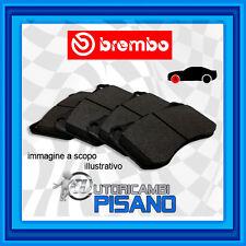 P50056 PASTIGLIE FRENO BREMBO ANTERIORI MERCEDES CLASSE A (W169) A 180 CDI 109CV
