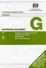 """The Building Regulations, 1991 1991: Approved Document G, Dept.of Environment, """""""