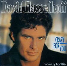 DAVID HASSELHOFF : CRAZY FOR YOU / CD - SONDERAUFLAGE SONOCORD