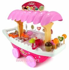 New battery operated Sweet Shop Luxury Candy Car Pink Ice Cream Sweets XMAS Gift