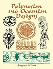 Polynesian and Oceanian Designs (Dover Pictorial Archive), Mirow, Gregory, New B