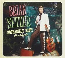 BRIAN SETZER : ROCKABILLY RIOT ALL ORIGINAL  (CD) Sealed