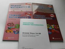 Singapore Primary Math Level 3 + Answer Booklet (US ED)-Textbook/Workbooks 3A+3B