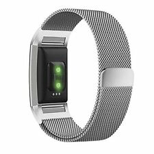 Fitbit Charge 2 Armband, eLander Milanese Edelstahl Replacement Wrist Band Strap