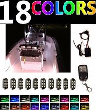 10pc Interior LED Waterproof Neon POD Lighting Kit For Yacht Marine Deck Boats