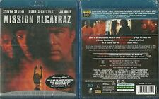 BLU RAY - MISSION ALCATRAZ avec STEVEN SEAGAL, JA RULE NEUF EMBALLE NEW & SEALED