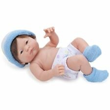 JC Toys Mini La New born in Blue Brown Hair Blue Eyes 9.5 inches Anatomically Co