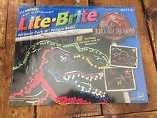 Lite Brite Jurassic Park III Picture Refill New in Original Wrapping