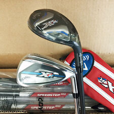 CALLAWAY GOLF XR OS IRONS/HYBRIDS COMBO SET 4H/5H/6-PW,SW  STEEL REGULAR  16952