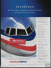 AMERICAN AIRLINES 17 OF BEST REASONS BEHIND OUR SUCCESS IN 1999 757 AD