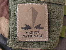 SNAKE PATCH - MARINE NATIONALE - kaki basse visibilité