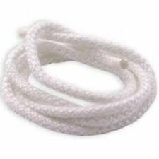 STOVE ROPE FOR WOODBURNING STOVES. DOOR & GLASS FIBRE SEAL IN 6MM SOFT