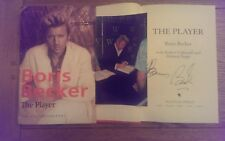 Boris Becker The Player SIGNED The Autobiography Hardback Book 1st Edition