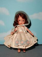 Nancy Ann Storybook Doll ~ #127( Merry)  Merrie Little Maid- Bisque Frozen Legs