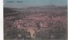 B79030 laibach ljubljana lubiana slovenia  scan front/back image