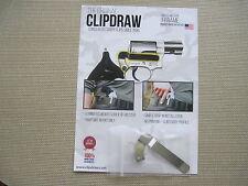 Clip Draw J Frame Revolver Concealed Carry IWB Belt Clip Holster Silver Steel