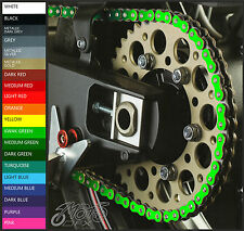 KAWASAKI ZX10R (04-15) Colour Chain Decals - Choice of Colour - zx1000 sprocket