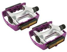 "Purple ROAD MTB 940 Alloy Pedals 9/16""  cruiser 9/16 pedal.fixie bicycle pedal"