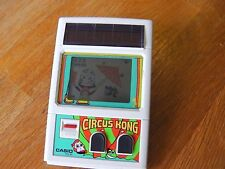 "Lcd game Casio "" Circus kong "" game watch"