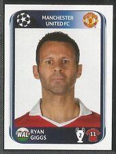 Panini 2010-2011 Champions League #149 MAN UTD Ryan Giggs sticker