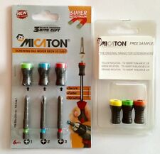 MICATON Magnetic Screw Holder Set with it's own color coded PH power bits & gift