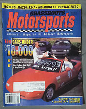 GRASSROOTS MOTORSPORTS MAGAZINE AUTO-X 1994 MARCH APRIL MIATA RX7 FIERO MG SCCA