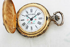 """ ASTORIA "" Beautiful Vintage 17 Jewels Mechanical Pocket Watch."