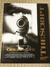 GoldenEye The Script - James Bond