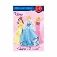 "Disney ""WHAT IS A PRINCESS?"" /Step into Reading/Step 1"