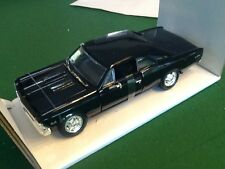 1  NEW 1:24 SCALE 1966 CHEVROLET CHEVELLE SS 396 DIECAST