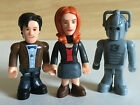 3 character building DR WHO FIGURES 11th Doctor Amy Pond Cyberman