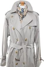 BURBERRY TRENCH COAT MAC RAINCOAT UK 18 20 US 16 18 EU 44 46 EXLONG NEW BUCKLES