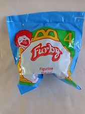 McDonalds FURBY Figurine 4 Happy Meal Toy 1998 Tiger Electronics NIP