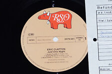 ERIC CLAPTON -Just One Night- LP 1980 RSO Archiv-Copy